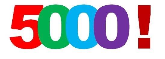 5 000 Visites... Merci... 5000